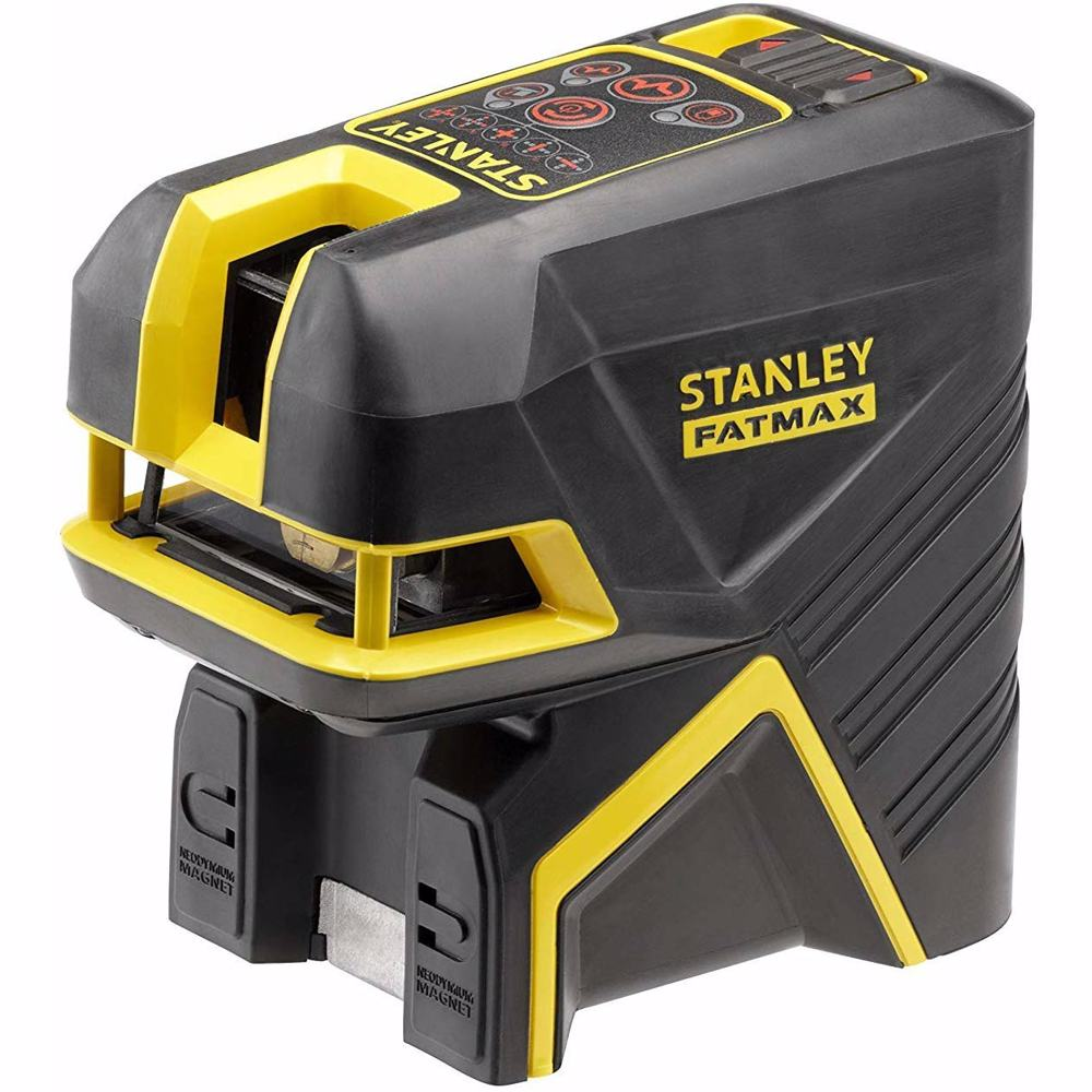 Stanley Fatmax Beam Cross Line And 2 Spot Laser, FMHT1-77414