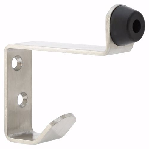 Dorfit DTDS024 Coat & Hat Hook with Door Stopper for Bathroom