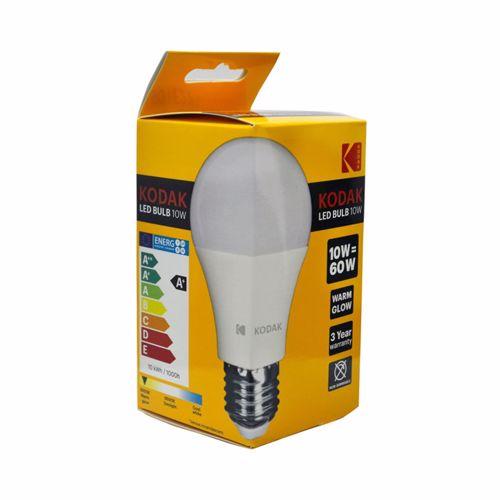 Kodak Led Bulbs Globe A60 E27 10W - Warm Glow
