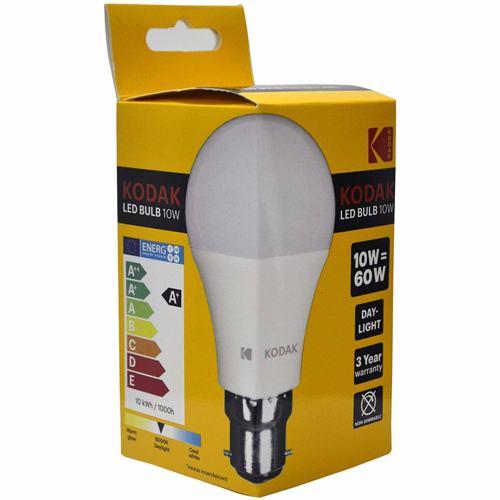 Kodak Led Bulbs Globe A60 B22 10W - Daylight