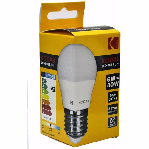 Kodak Led Bulb Golf G45 E27 6W - Daylight