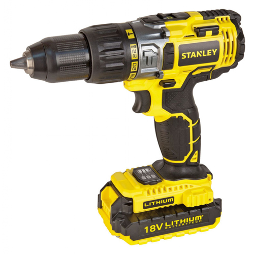 Stanley STDC18LHBK 18V Li-Ion Hammer Drill