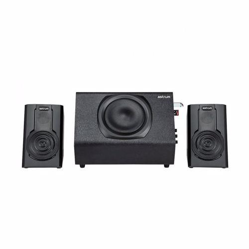 Astrum X723U 2.1CH Speaker SD / USB / FM 80W RMS - Black