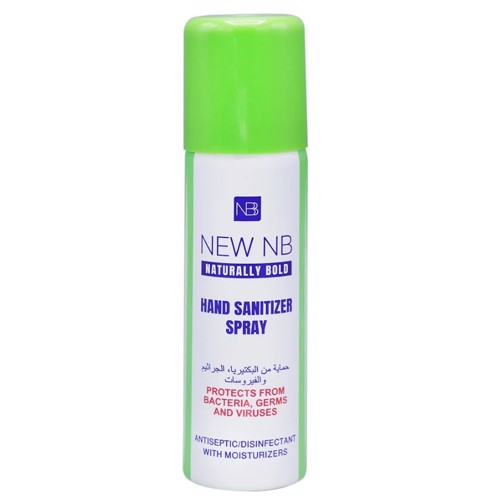 New NB Hand Sanitizer Spray - 60ml (1x192pcs)