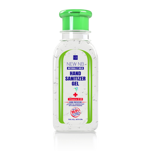New NB Sanitizer Gel – Flip Top – 120 ML