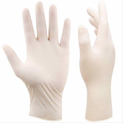 Si & Moos Latex Gloves Medium Neutral 100 Pcs/Box Powder Free