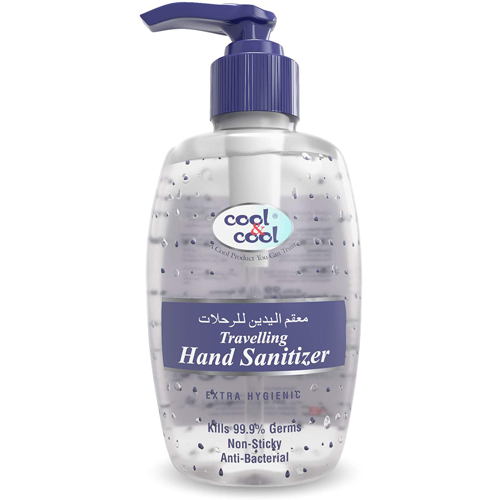 Cool & Cool Travelling Hand Sanitizer Gel - 250ml