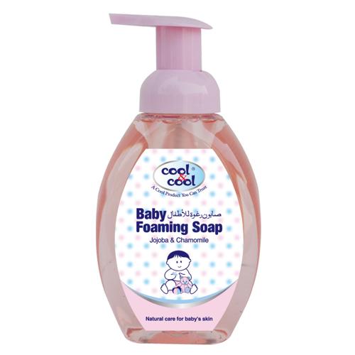 Cool & Cool Baby Foaming Soap - 350ml - Jojoba & Chamomile
