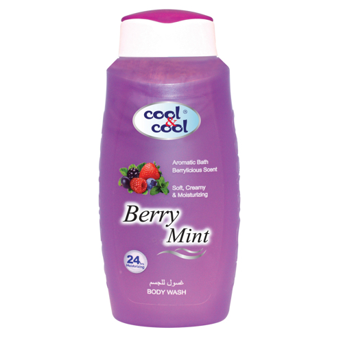 Cool & Cool Body Wash - 250ml - Berry Mint