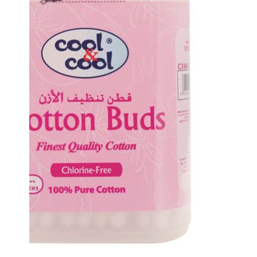 Cool & Cool Cotton Buds - 100 Pcs