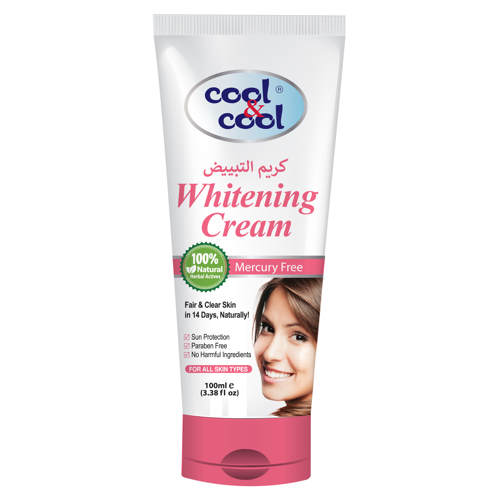 Cool & Cool - Whitening Facial Cream For Women - 100ml