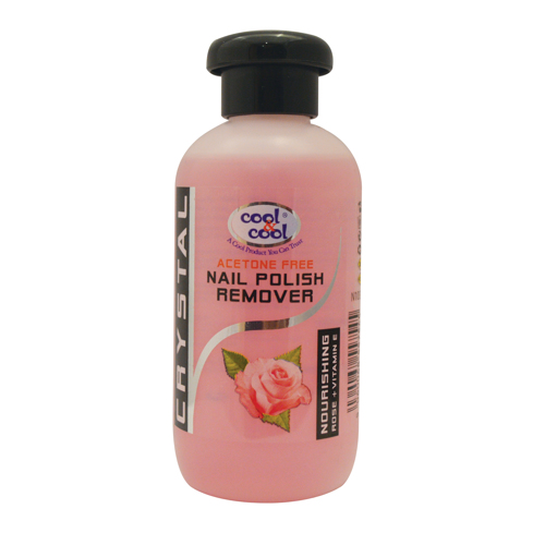Cool & Cool Nail Polish Remover - 100ml Rose