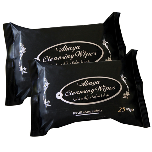 Cool & Cool Abaya Cleansing Wipes