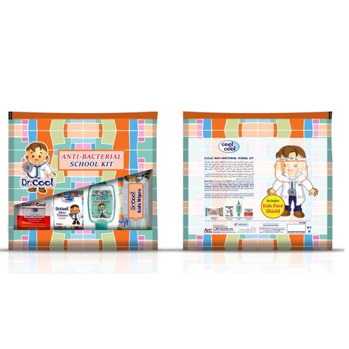 Cool & Cool Anti-Bacterial School Kit