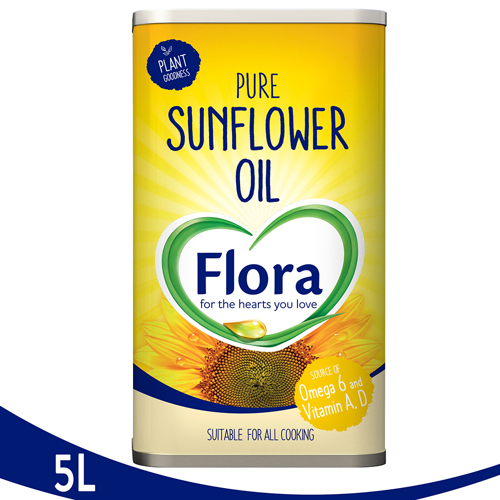 Flora Sun Flower Oil-5L