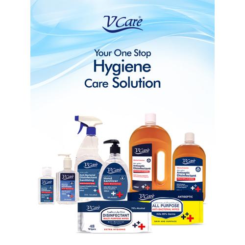 V Care Hand Sanitizer Gel 60ml - 70% Alcohol - 60 ml