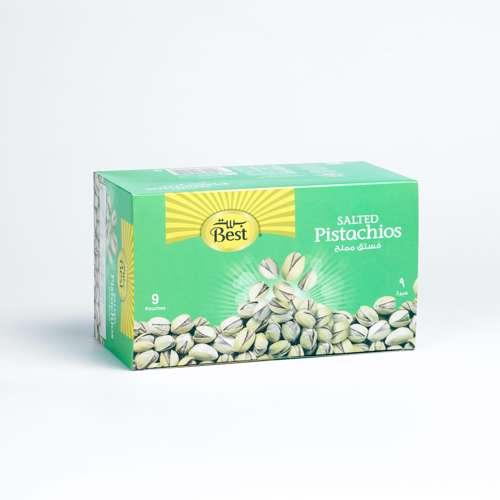 Best Salted Pistachios 30gm (1x9Pcs)
