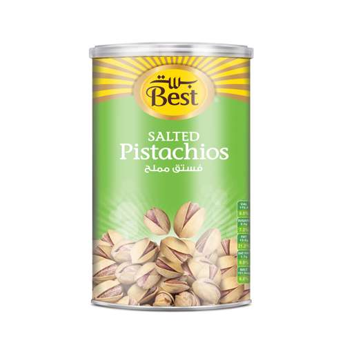 Best Salted Pistachios Can 400gm