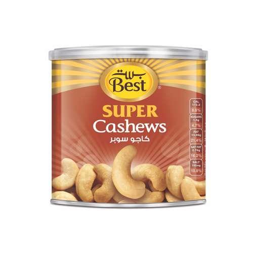 Best Super Cashews Can 275gm