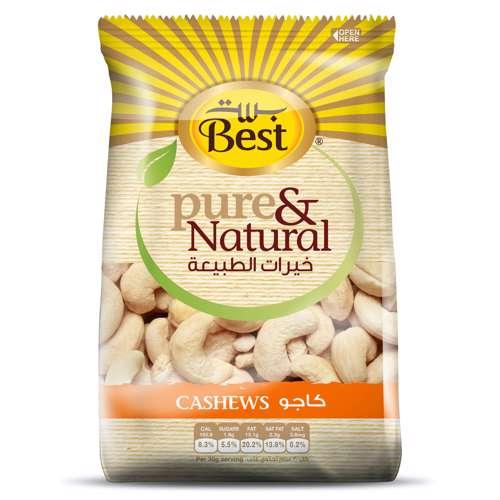 Best Pure & Natural Cashews Bag 325gm