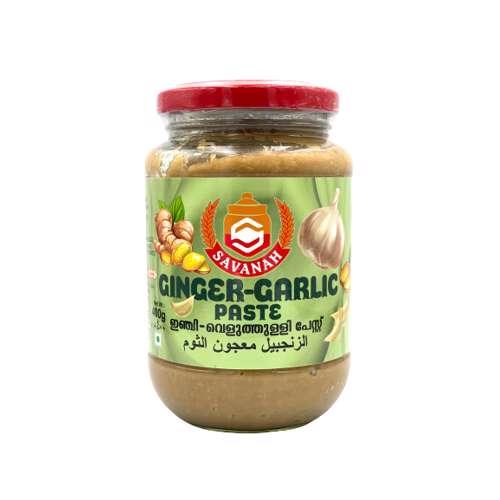 Savanah Garlic Ginger Paste-400gm