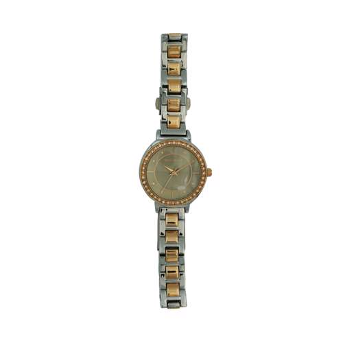 Trend Setter Women''s Two Tone Rose Watch - Metal Band TD-145L-3