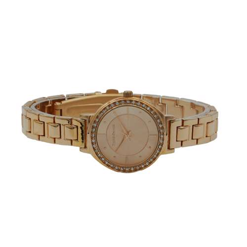 Trend Setter Women''s Rose Gold Watch - Metal Band TD-145L-4