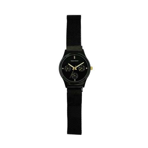 Trend Setter Women''s Black Watch - Mesh Band TD2107L-5