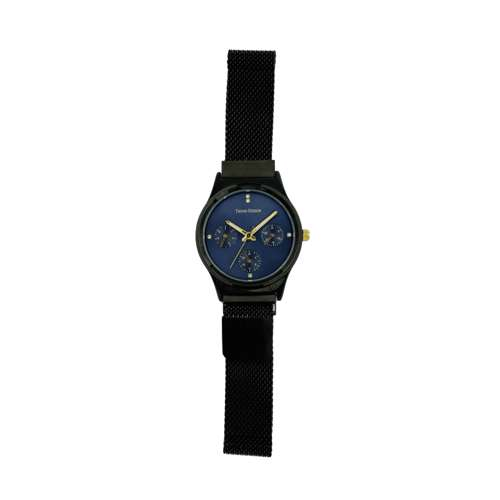 Trend Setter Women''s Black Watch - Mesh Band TD2107L-6