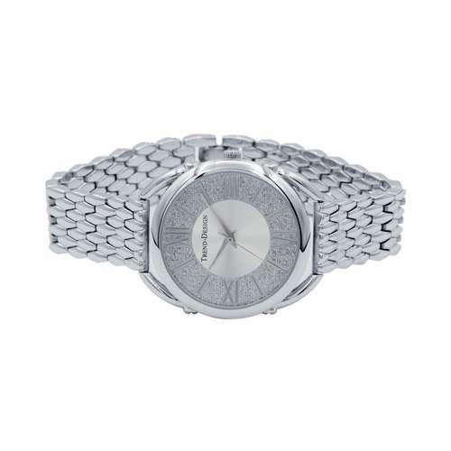 Trend Setter Women''s Silver Watch - Alloy Metal TD3002L-7
