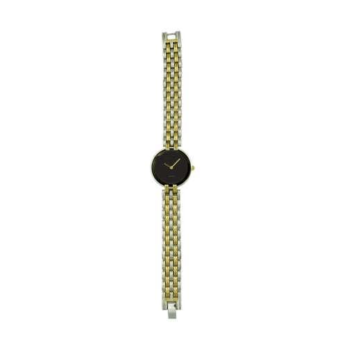 Trend Setter Women''s Two Tone Gold Watch - Alloy Metal TD3101L-5