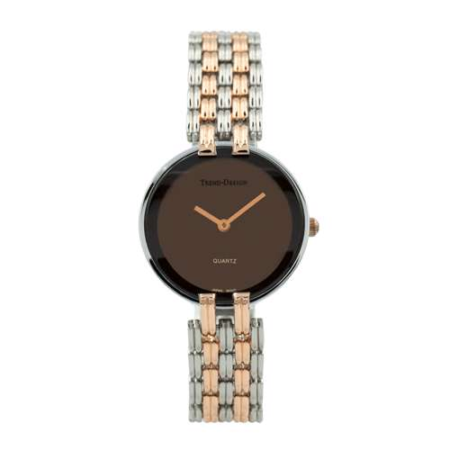 Trend Setter Women''s Two Tone Rose Watch - Alloy Metal TD3101L-7
