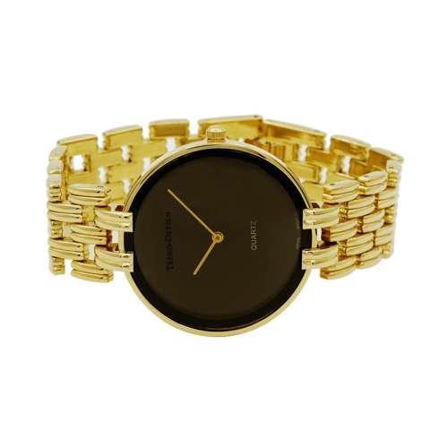Trend Setter Men''s Gold Watch - Alloy Metal TD3101M-2