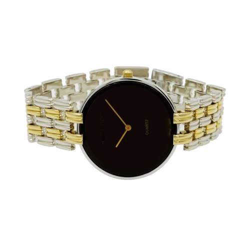Trend Setter Men''s Two Tone Gold Watch - Alloy Metal TD3101M-5