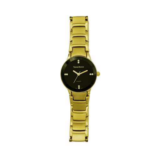 Trend Setter Women''s Gold Watch - Alloy Metal TD3102L-2