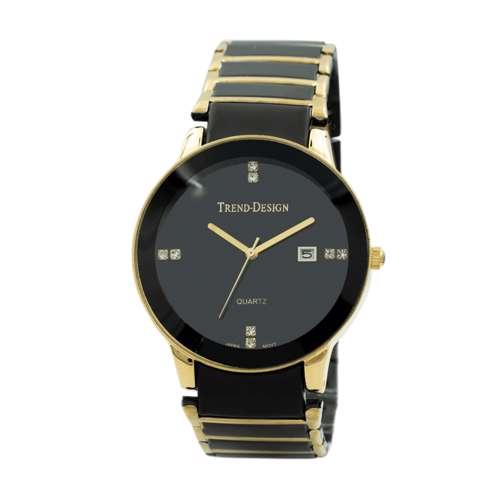 Trend Setter Men''s Black Watch - Alloy Metal TD3102M-3