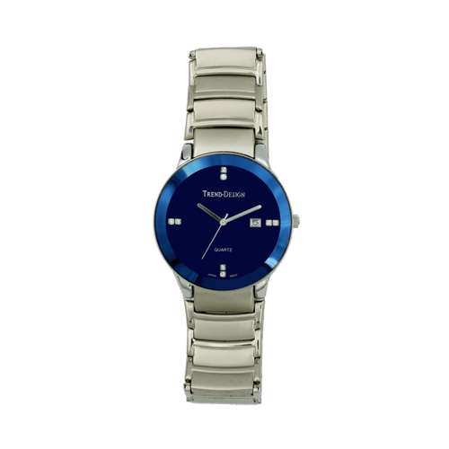 Trend Setter Men''s Silver Watch - Alloy Metal TD3102M-5