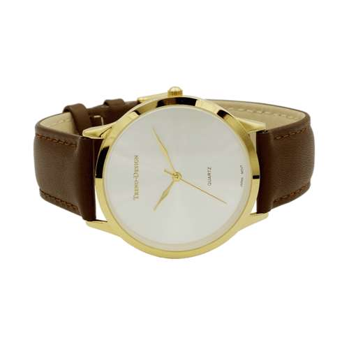 Trend Setter Men''s Brown Watch - Leather Strap TD3103M-1
