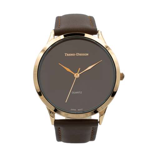 Trend Setter Men''s Brown Watch - Leather Strap TD3103M-4
