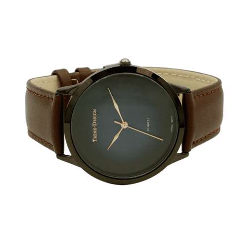 Trend Setter Men''s Brown Watch - Leather Strap TD3103M-5