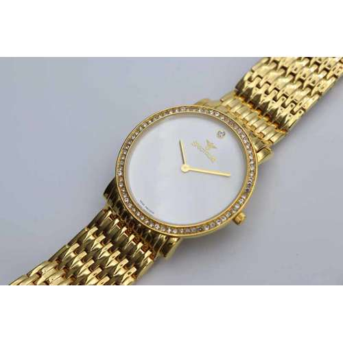Creative Men''s Gold Watch - Stainless Steel S12383M-2
