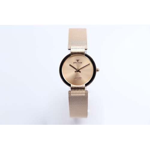 Creative Women''s Rose Watch - Mesh Band S15036L-3