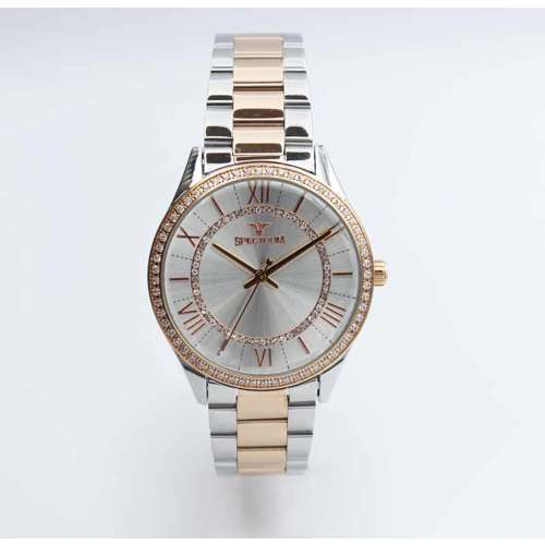 Challenger Women''s Two Tone Rose Watch - Stainless Steel S25169L-5