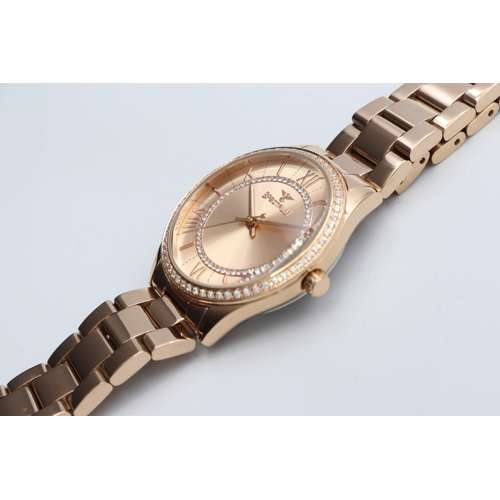 Challenger Women''s Rose Gold Watch - Stainless Steel S25169L-8