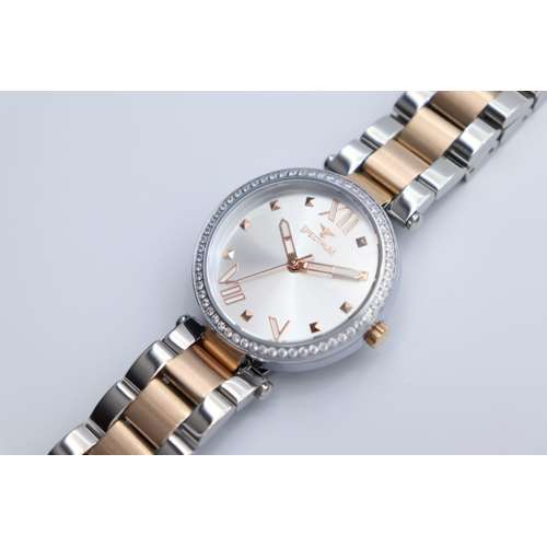 Creative Women''s Two Tone Rose Watch - Stainless Steel S25171L-6