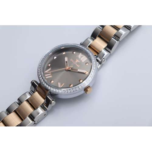 Creative Women''s Two Tone Rose Watch - Stainless Steel S25171L-7