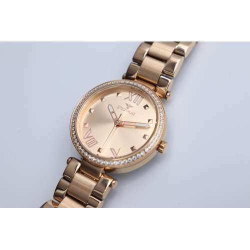 Creative Women''s Rose Gold Watch - Stainless Steel S25171L-9