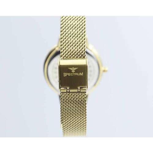 Creative Women''s Gold Watch - Mesh Band S25177L-2