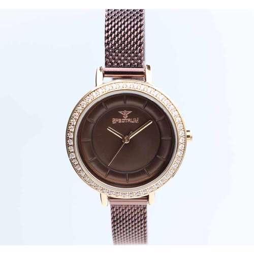 Creative Women''s Brown Watch - Mesh Band S25178L-3