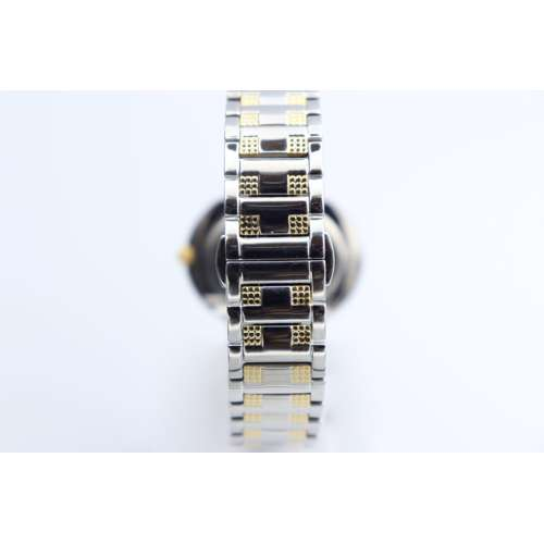 Creative Women''s Two Tone Watch - Stainless Steel S27001L-2